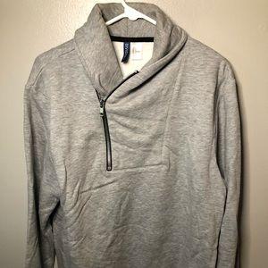 Men's H&M Sweatshirt Grey Size Large